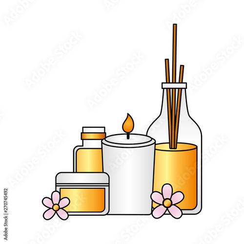 Photo sur Toile Les Textures spa treatment therapy