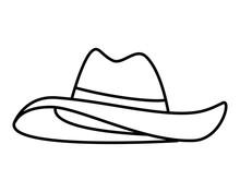 Summer Female Hat Headwear Icon
