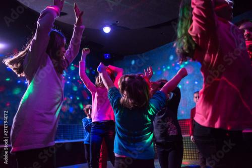 Kids neon disco party - 270794072