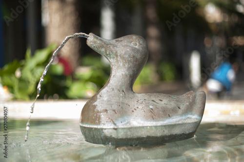 Fotobehang Fontaine Fountain