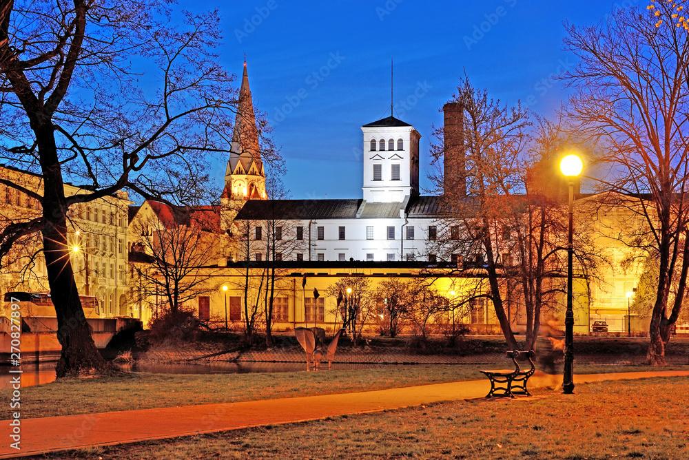 Fototapety, obrazy: Biała Fabryka - Łódź, Polska