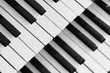 canvas print picture - piano keyboard
