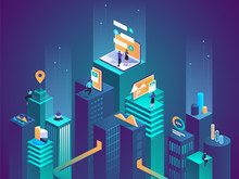Isometric Concept Virtual And ...