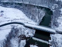 Icey Rivanna River