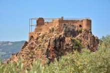 Vista Del Castillo De Lanjaron...