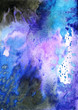 Abstract texture background. Handmade watercolor.