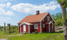 Traditional Swedish Red And Wh...