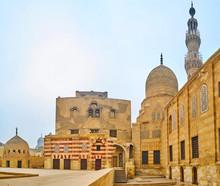 Architectural Ensemble Of Amir Khayrbak Funerary Complex, Cairo, Egypt