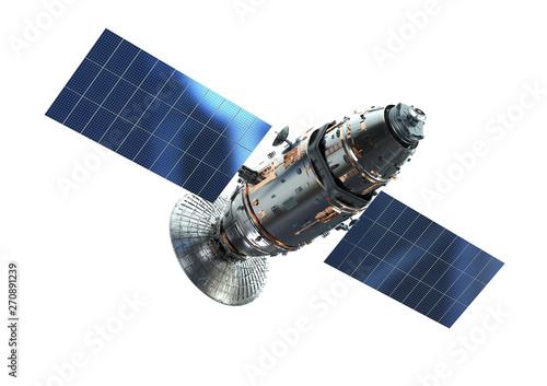 Satellite dish with antenna Wallpaper Mural