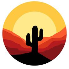 Cactus Vector Graphic Design