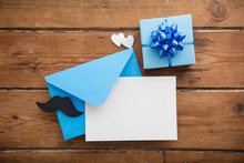 Father's Day Blank Card And En...