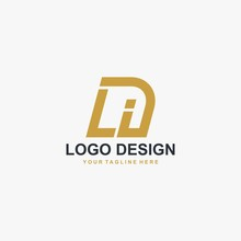 Letter LI Logo Design Vector. Abstract Font Logo Design.