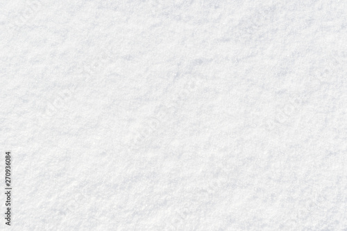 Fresh snow textured background Fotobehang