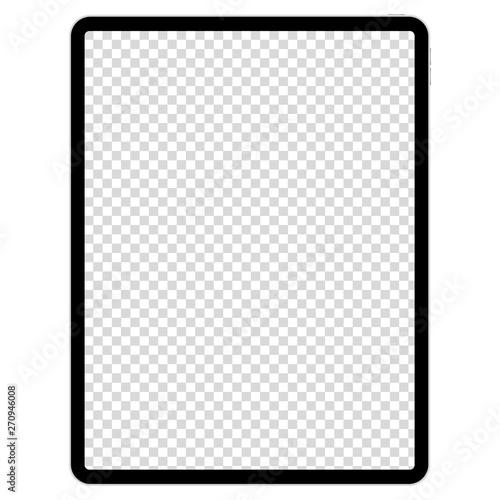 drawing pad for illustrators on white background Fotobehang