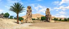 Colossi Of Memnon In Luxor