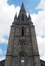 Spire Of The Former Church Of Saint Matthews In Holbeck In Leeds Built In 1832 Famous For Being The Burial Place Of Matthew Murray The Engineer And Inventor
