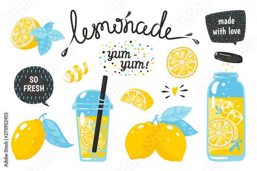 Fotografía Hand drawn lemonade