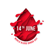 World Donor Day Blood Drop