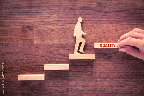Obraz Coach motivate to quality improvement - fototapety do salonu