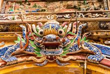 An Ornate Ceramic Mosiac Chine...
