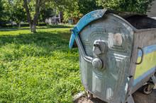 Trash Cans Metal Part Detail C...