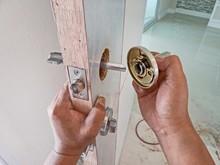 Installation Of The Door Lock.