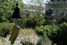 Wind Bells Chimes And Natural Background