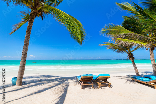 Photo  Perfect tropical beach
