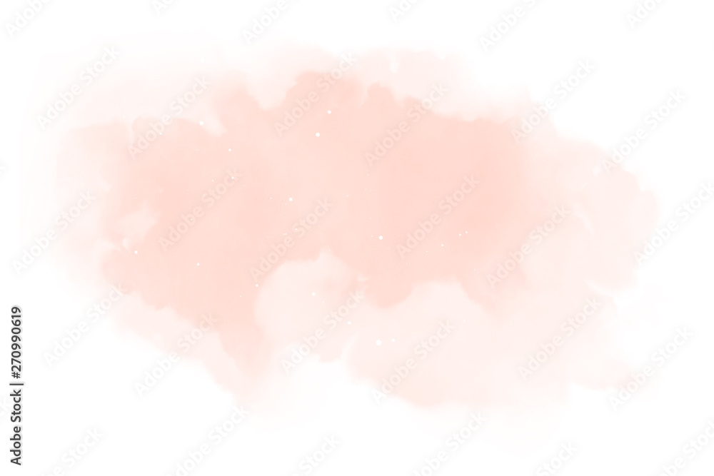 Fototapeta Watercolor background texture soft pink – Abstract Illustration