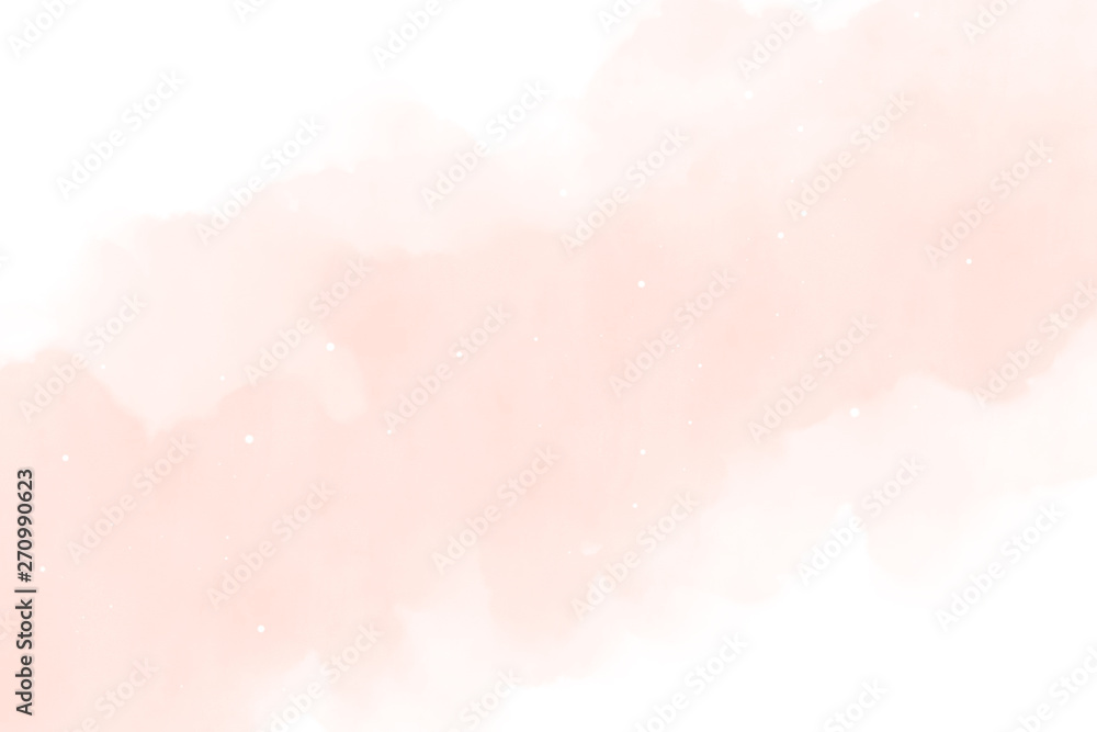 Watercolor background texture soft pink – Abstract Illustration