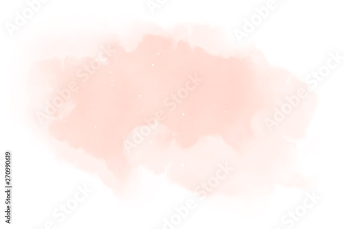 Fotomural  Watercolor background texture soft pink – Abstract Illustration