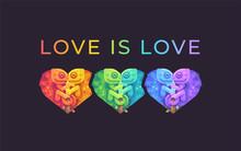 Love Is Love. Pride Month Rain...