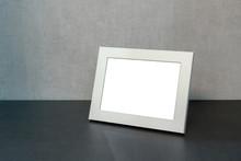 White Photo Frame Horizontally...