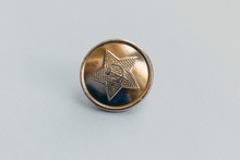Soviet Military Button-isolated