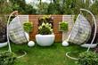 Recreation area in own garden