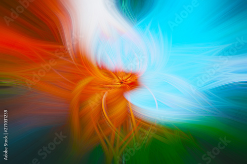 Fototapety, obrazy: abstract colorful background