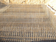 Pre-casting Of Reinforcing Mesh For Subsequent Pouring Of Concrete
