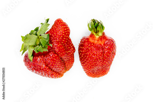 Imperfect Strawberry Fototapeta