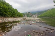 Lake Pollution Garbage Junk Dump Cleaning Vessel Boat