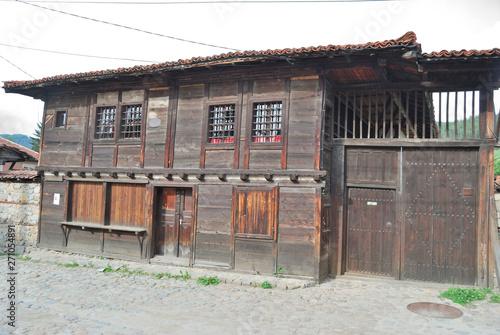 Photo Stands Route 66 Koprivshtica city, Bulgaria
