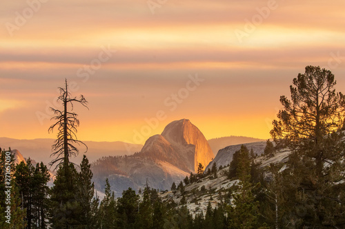 Spectacular views of the Yosemite National Park in autumn, Calif - 271057050