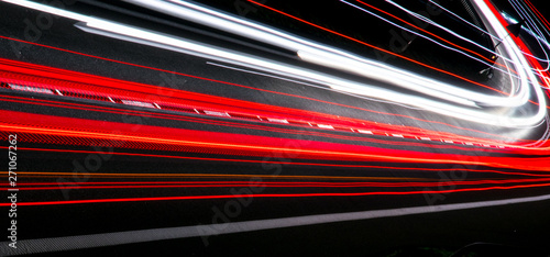 Photographie  lights of cars with night