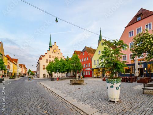 Staande foto Oude gebouw Neumarkt in der Oberpfalz