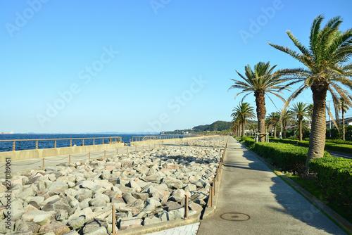 Valokuva 神奈川県横須賀市馬堀海岸の風景 日本