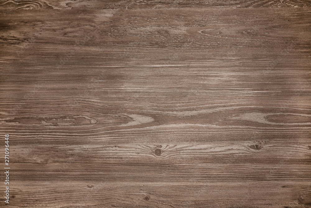 Fototapeta Surface of natural wood as background, top view
