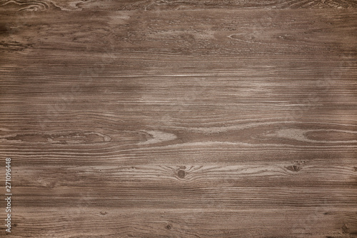 Fotobehang Hout Surface of natural wood as background, top view