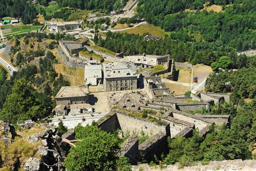 Paesaggio con il forte di Fenestrelle. © bussiclick
