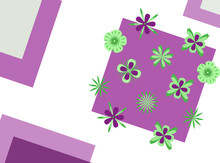 Flower Greeting Card For The S...