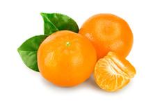 Tangerine Or Mandarin Fruit Wi...