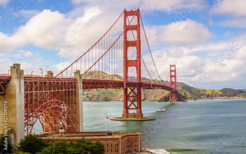 Golden Gate Bridge Canvas-taulu